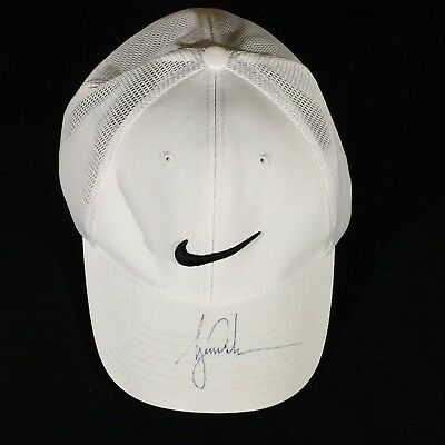 7aa2b4976b9 Tiger Woods Signed Authentic Fitted Nike Golf Hat 2018 Tour Championship JSA  PSA