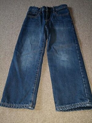 Gap- Fleece Lined Loose Fit  Jeans- Age 5- Vgc!