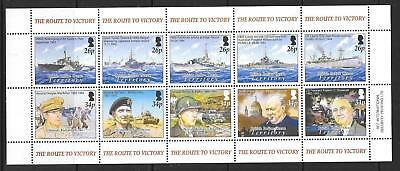 BRITISH INDIAN OCEAN TERR SG326a 2005 60th ANNIV OF END OF SECOND WORLD WAR MNH