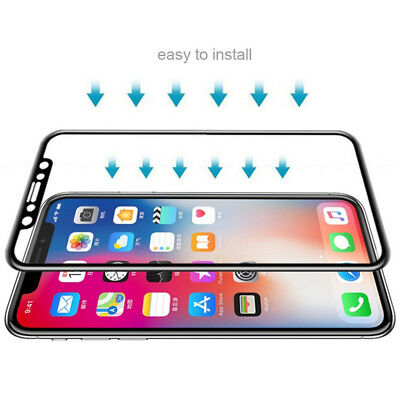 3 Pack Full Cover Tempered Glass Screen Protector for iPhone XS/ xs max/ XR