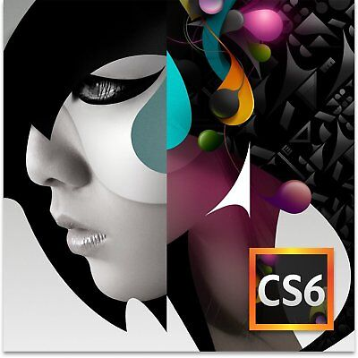 Adobe Design Standard CS6 MAC WINDOWS Datenträger
