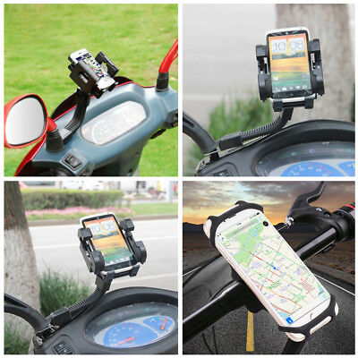 Universel Vélo Moto Silicone Support Téléphone GPS Fixation Guidon Pour iphone