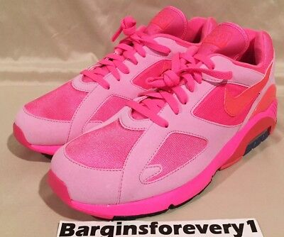 timeless design 421c8 88a5d New Nike Air Max 180   CDG Comme des Garcons - Size 10 - Laser Pink
