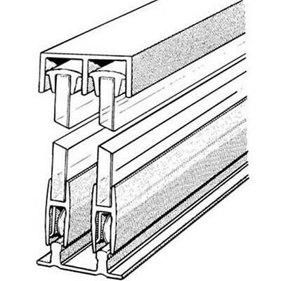 Epco E14A6 72 In. Sliding Glass Door Track And Components