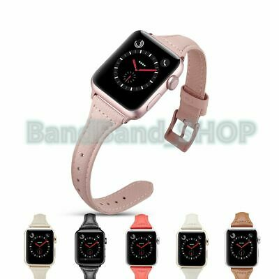 Genuine Leather women Strap Watch Band for Apple Watch Series 3 2 1 38mm 42mm