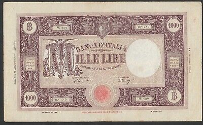 1000 Lire From Italy 1946