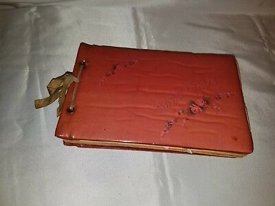 Antique Vintage 1930's 'Baby Days' Memory Keepsake Book Album- Complete