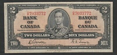 2 Dollars From Canada 1937