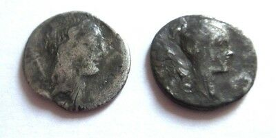 A lot of 2 x Silver-Denare of  Roman Republic