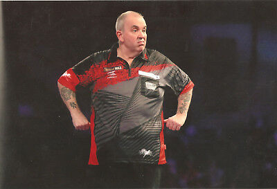 Phil Taylor☆The Power☆Darts☆16 x Weltmeister☆WM Final 2018☆Groß-Foto☆A4☆20x30 cm