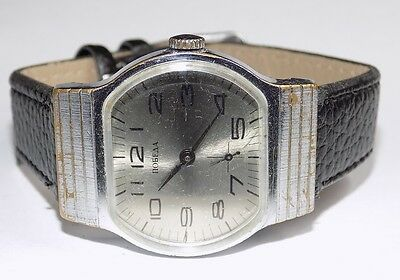 Rare old vintage antique Russian POBEDA Mechanical USSR Wrist Watch #63165