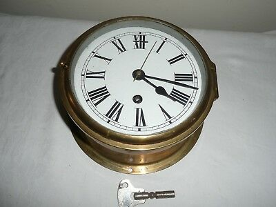 Smiths Bulkhead Clock, Astral Coventry Movement, Good Condition &  Working