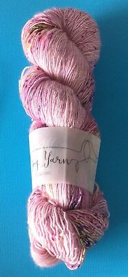 New Skein Of Long Dog Yarns Hand-Dyed Yarn. {Morning Dew}
