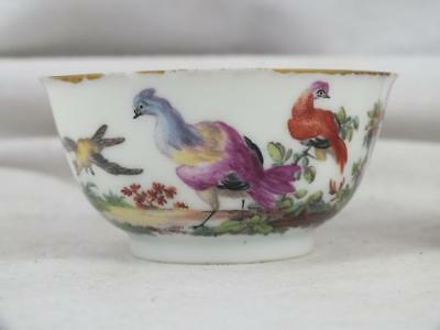 Fine 18Th C London Giles Duvivier ? Painted Chinese Porcelain Teabowl 1