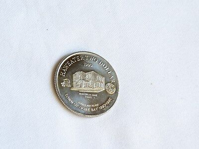 1990 Manitoulin $2 trade dollar coin Ontario Canada Gore bay Lodge