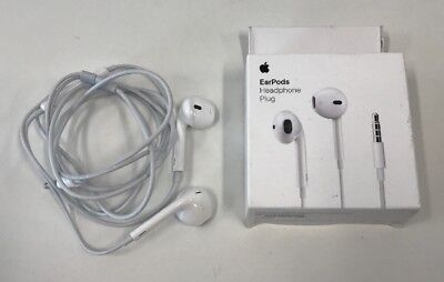 e04d6060bed Apple Wired Headset Earpods Plug for A1472 with 3.5mm Headphone Jack Gently  Used