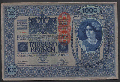 France, Germany & Austria 1916 - 1939 Used Banknote Selection