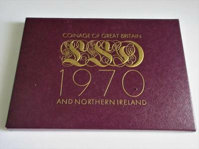 Vintage ROYAL MINT 1970 GREAT BRITAIN PROOF COIN SET!