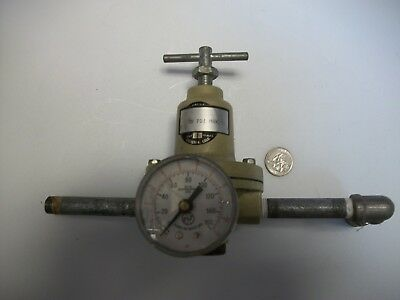 Norgren Regulator 30 psi max; 175F max temp w/ gauge