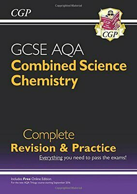 9-1 GCSE Combined Science: Chemistry AQA Higher Complete Revisio... by CGP Books
