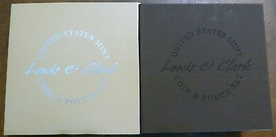 2004 Lewis & Clark Bicentennial Proof Silver Dollar and Pouch Set - BOX & COA