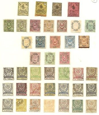 Turkey - Early Collection on Pages