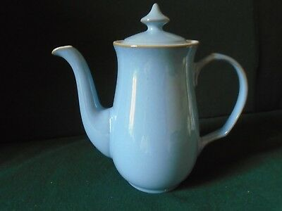 Denby Colonial Blue coffee pot