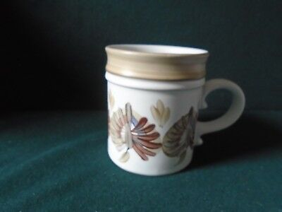Denby art pottery mug