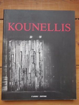 JANNIS KOUNELLIS. catalogue d'exposition. Milano 1992