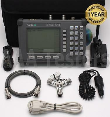 Anritsu SiteMaster S251B TwoPort Transmission Cable Antenna Analyzer w/ Option 5