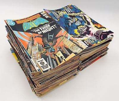 159 x BATMAN Comic Books From Early 1980s to Early 1990s DETECTIVE COMICS - F17