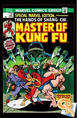 Master of Kung Fu Comic Collection 116 Issues on DVD CBR Format! 1973 - 1983