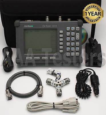 Anritsu Site Master S251B TwoPort Transmission Cable Antenna Analyzer w/ 5 & 10A