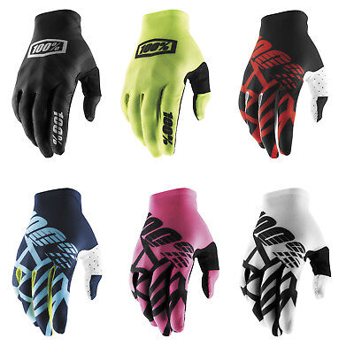 100% Celium 2 Motorcycle Dirtbike Offroad MX Riding Gloves