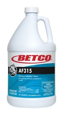 Betco 31504-00 AF315 1 gal Disinfectant Cleans - pack of 4