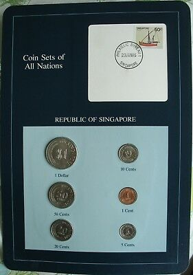 Coin Sets of All Nations 1981-84  Singapore