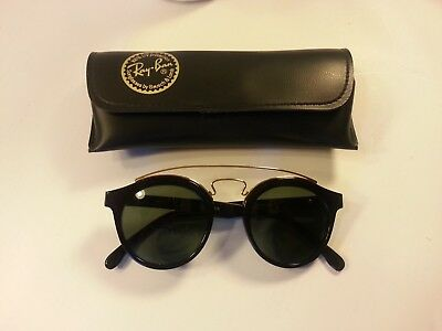 Ray Ban Usa B&l Gatsby Style 4 W0932 Vintage  Sunglasses W/ Case