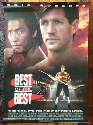 """Eric Roberts BEST OF THE BEST Martial Arts Movie Poster-27"""" by 41"""""""