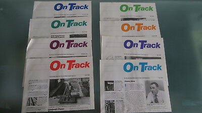 On-Track magazine for Metro-North employees 1984