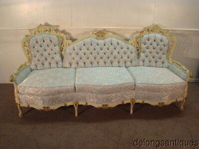 50673:French Carved Sofa