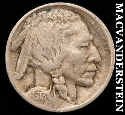 1913 Buffalo Nickel - Type 1 - Semi-Key!!  Better Date!!  #c517