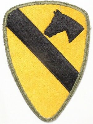 Army Patch: 1st Cavalry Division - WWII era