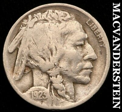 1923-S Buffalo Nickel - Semi-Key!!  Better Date!!  #c547