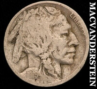 1919-S Buffalo Nickel - Semi-Key!!  Better Date!!  #c542