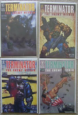 Terminator The Enemy Within #1-4 Dark Horse Comics 1991 Nm Unread Complete Set