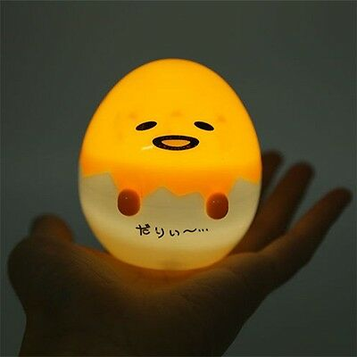 Anime Gudetama Lazy Egg Lamp Night Light Gift 8CM