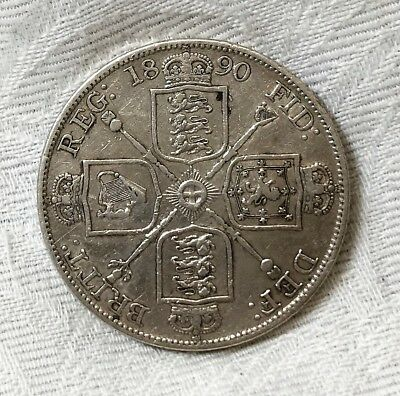 Great Britain ... 1890 ... Double Florin