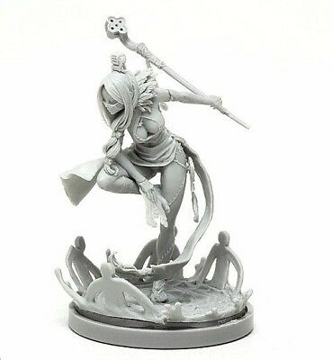 █ 30mm Resin Kingdom Death Mage Unpainted ONLY Figure WH064