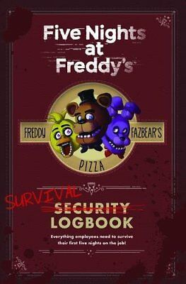 Five Nights at Freddy's: Survival Logbook by Cawthon, Scott Book The Fast Free