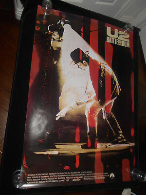 U2 Rattle And Hum   Original Rolled One Sheet Poster  Rock Music